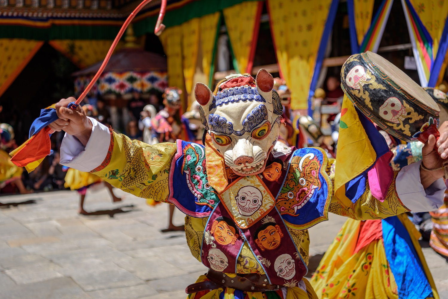 Photo Tour Bhutan Dance with Death