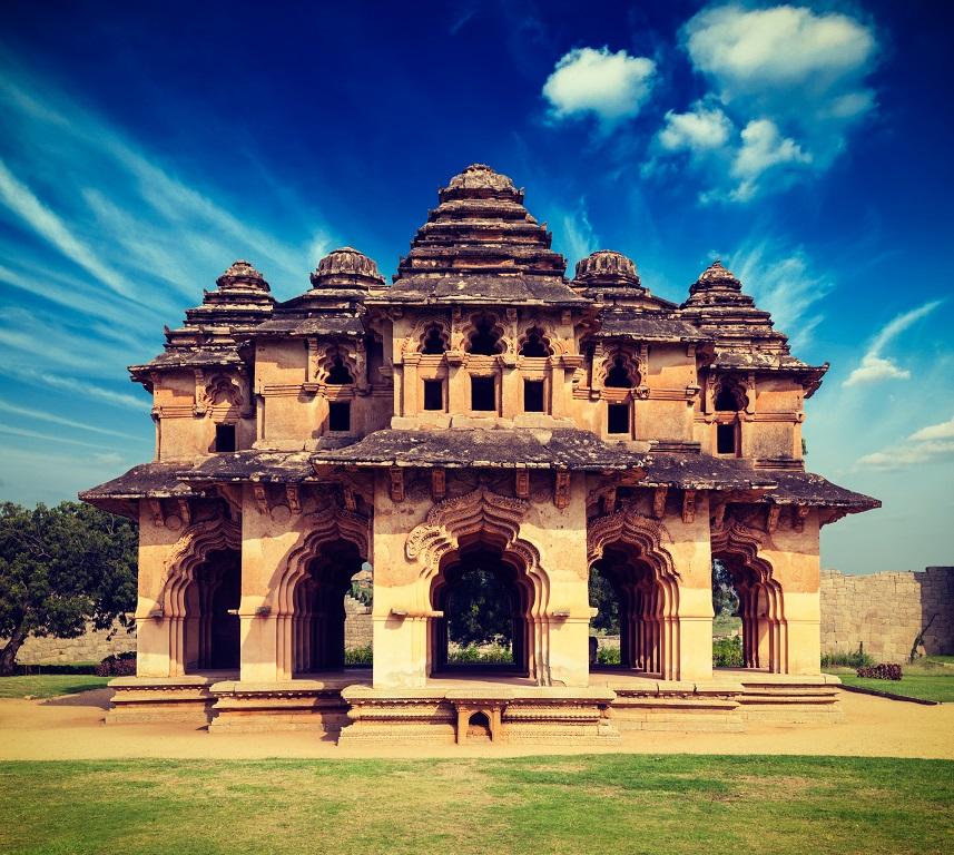 Lotus Mahal Temple - Hampi