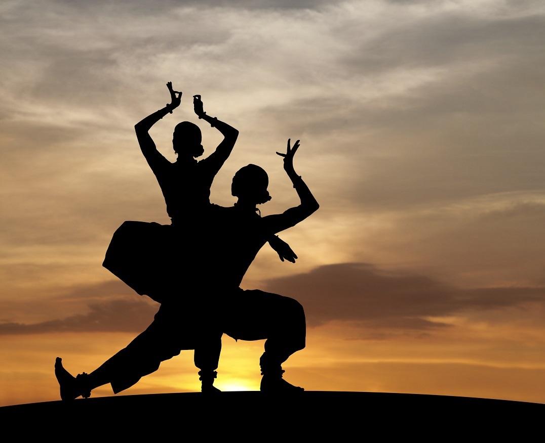 Classical Indian Dancers