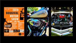 """Journée ensoleillée au """"BOUGIVAL Motor Show 2019""""..."""