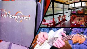 """""""Concert Brunch"""" sur la péniche """"Le Marcounet"""" avec """"THE BONE-RUBBERS"""""""