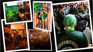 « St Patrick Party » au local du ROAD MONSTERS HDC (95 Vémars).