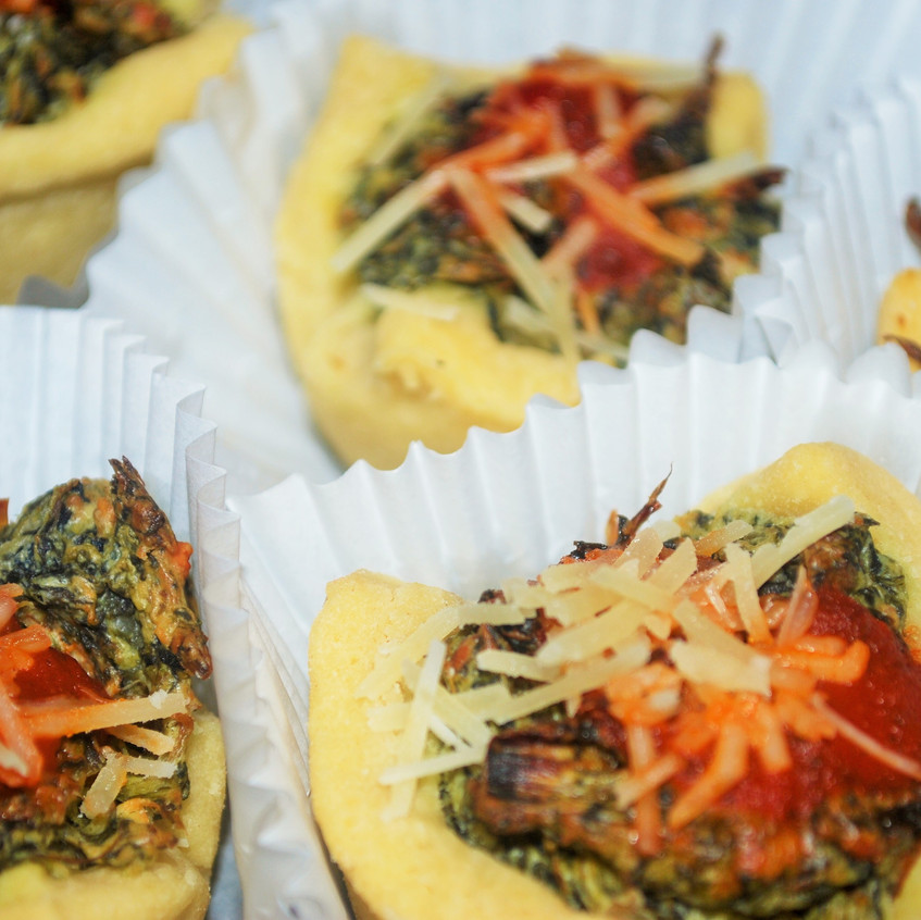 Spinach Dip Cups