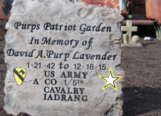 Highlights from Purp's Patriot Park Dedication