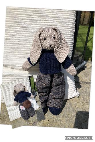 Harris Tweed®  Custom Handmade Bunnies