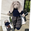Thumbnail: Harris Tweed®  Custom Handmade Bunnies