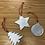 Thumbnail: Set of 3 Christmas decorations