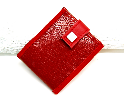 CARTERA MONEDERO   Roja
