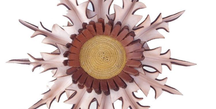 Eguzkilore Cuero Colgar Natural
