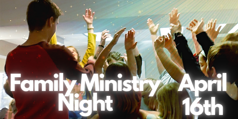 Family Ministry Night: Living in Freedom