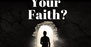Where is Your Faith? Results Matter