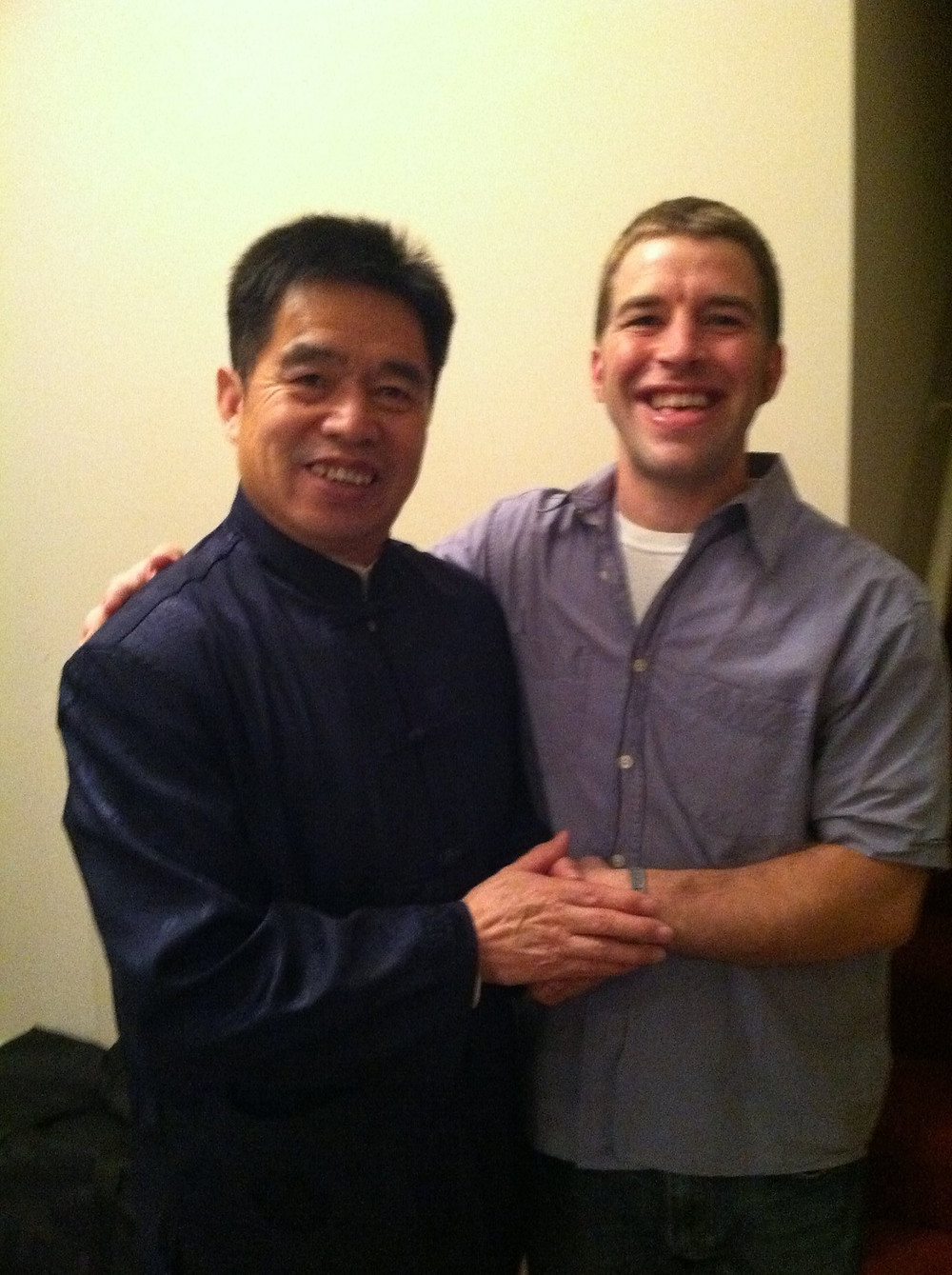 Brother Yun and Karl Gessler