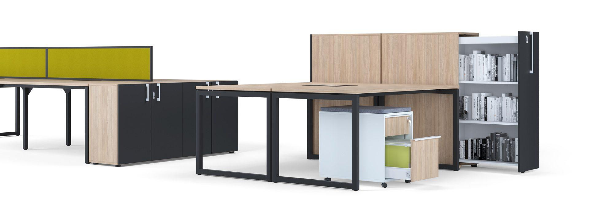 Single-desks-broad-ranging-system-NOVA-O