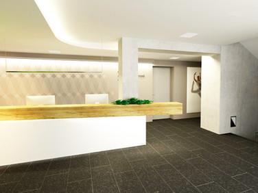 Fyziocentrum Baťa - vizualizace