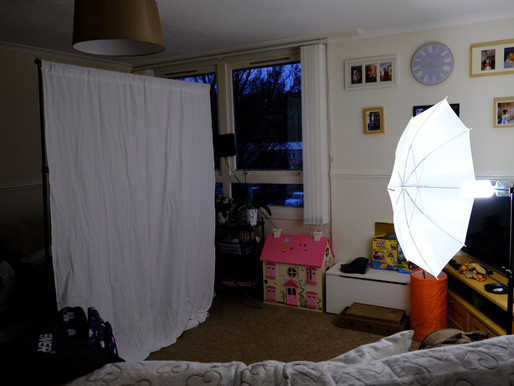 Studio Photography at Home