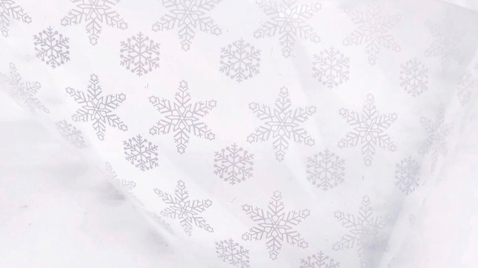 Foil 4x50cm (1458) Snowflake