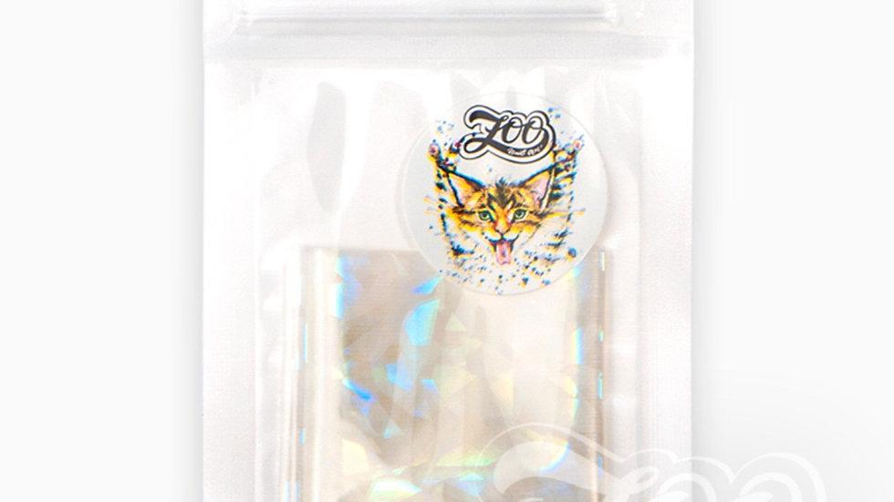 Foil 4x50cm (1357) Opal shards