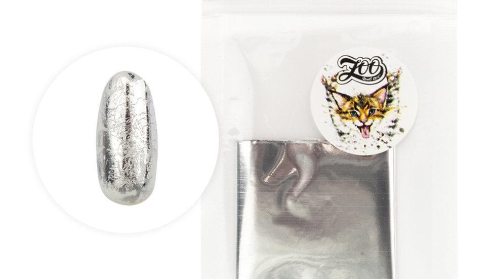 Foil 4x50cm (1414) Silver gloss