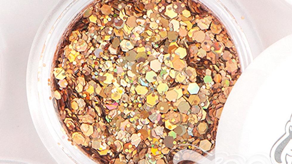 Glitter 2g (1342) Hexagon mix