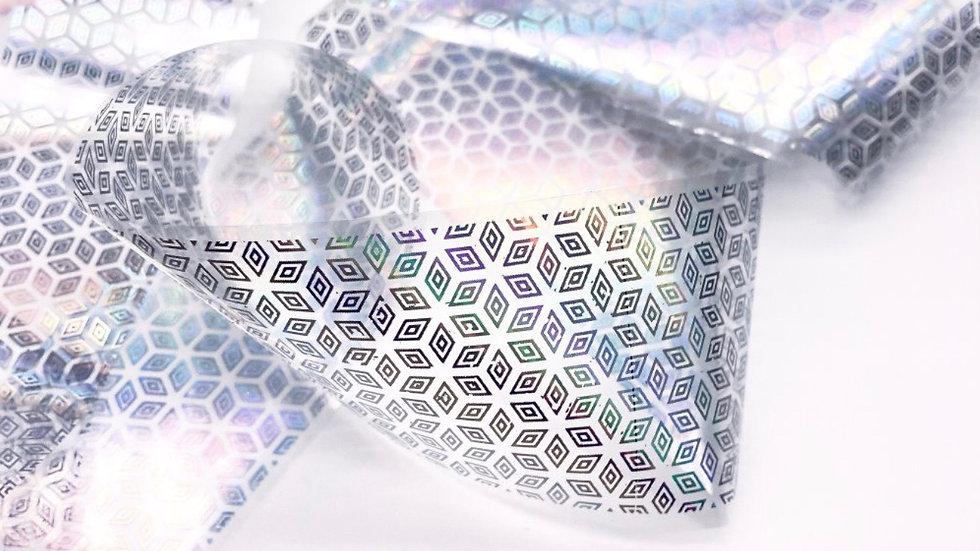 Foil 4x50cm (1468) Holographic cubes