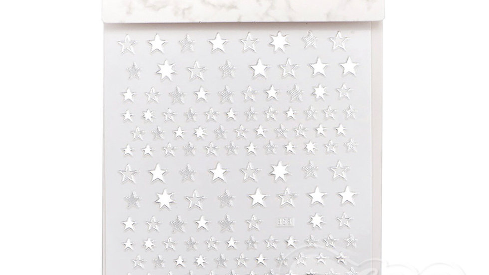 Nail Art Stickers (1384) Stars