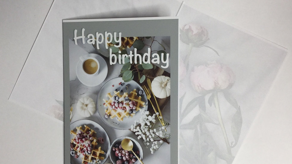 Gift Card - Birthday