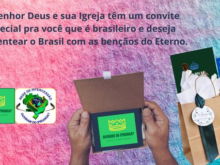 Um convite para abençoar o Brasil