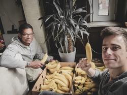 Eine Woche Bananen