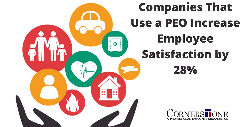 Companies that use a PEO increase employee satisfaction