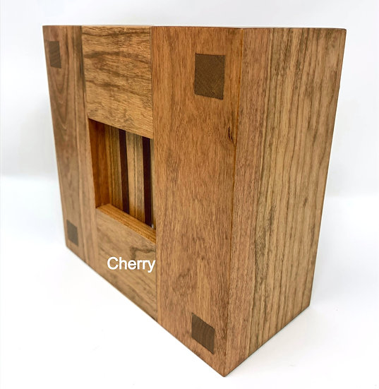 Mission Style Wood Doorbell Chime Cover (Cherry)