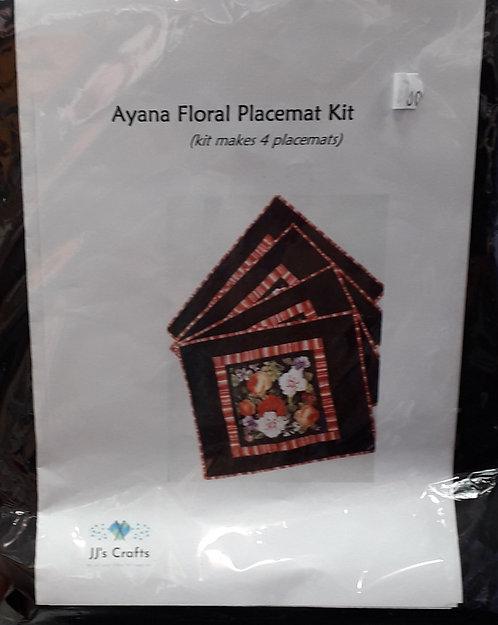 Ayana Floral Placemat Kit