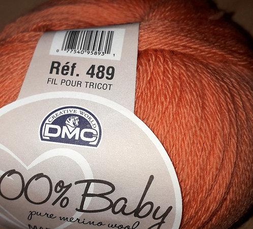 DMC100%Baby Merino-Orange Spice