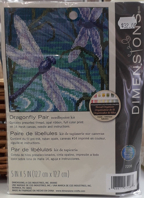 Dimensions - Dragonfly Pair