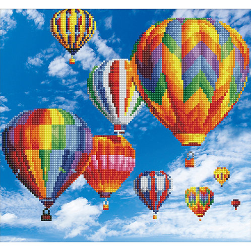 Diamond Dotz Hot Air Balloons