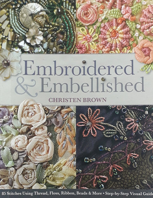 Embroidered And Embellished - Christen Brown