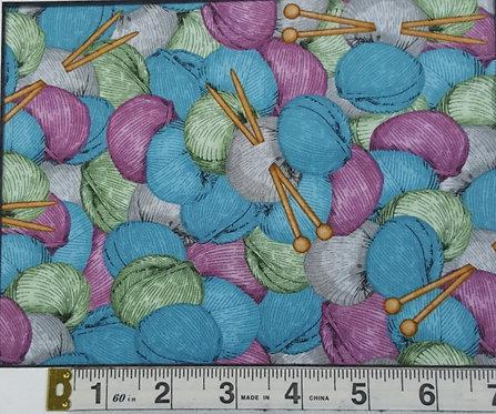 Wyndham Knit&Purl Blue