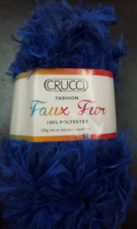 Crucci Faux Fux  100% Plolyester