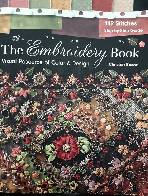THE EMBROIDERY BOOK [out of stock[