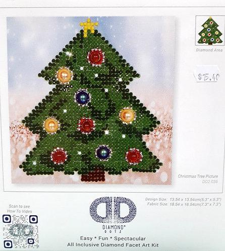 Diamond Dotz - Christmas Tree Picture