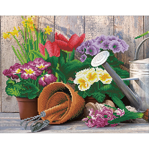 Diamond Dotz Spring Gardening