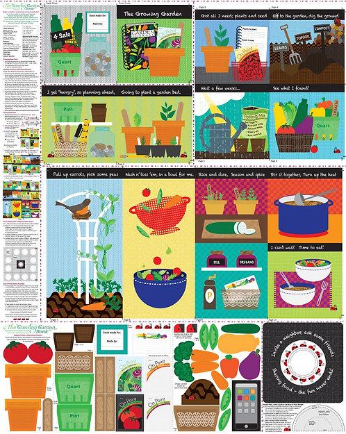 The Growing Garden Book panel