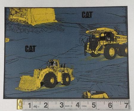 Cat Bulldozers - Blue