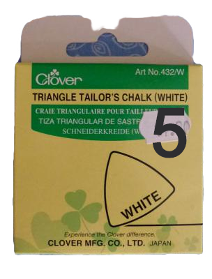 Triangle Tailor's Chalk