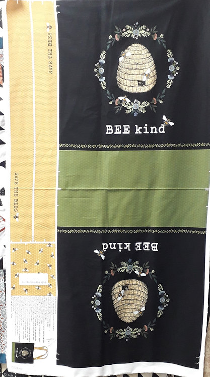Bee Kind - Bag Panel