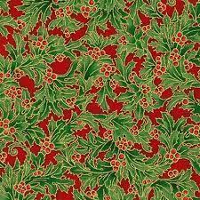 Holiday Flourish - Red