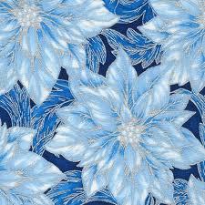 Holiday Flourish - Blue