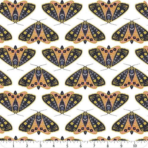 Flight of the Moths -Ivory/Poppy