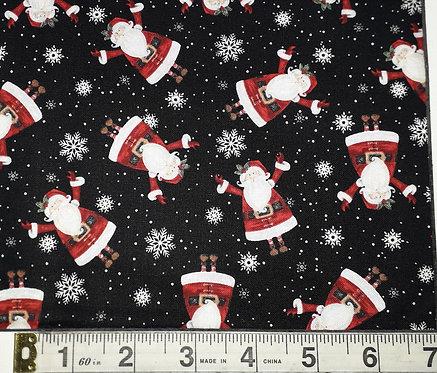 Double Decker Christmas - Black Santa