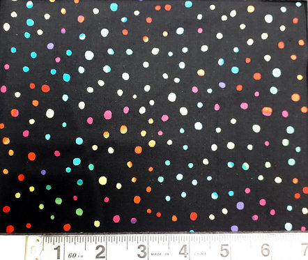 Black Multi Dot
