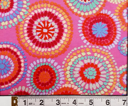 Free Spirit Mosaic Pink PWGP176.PINK